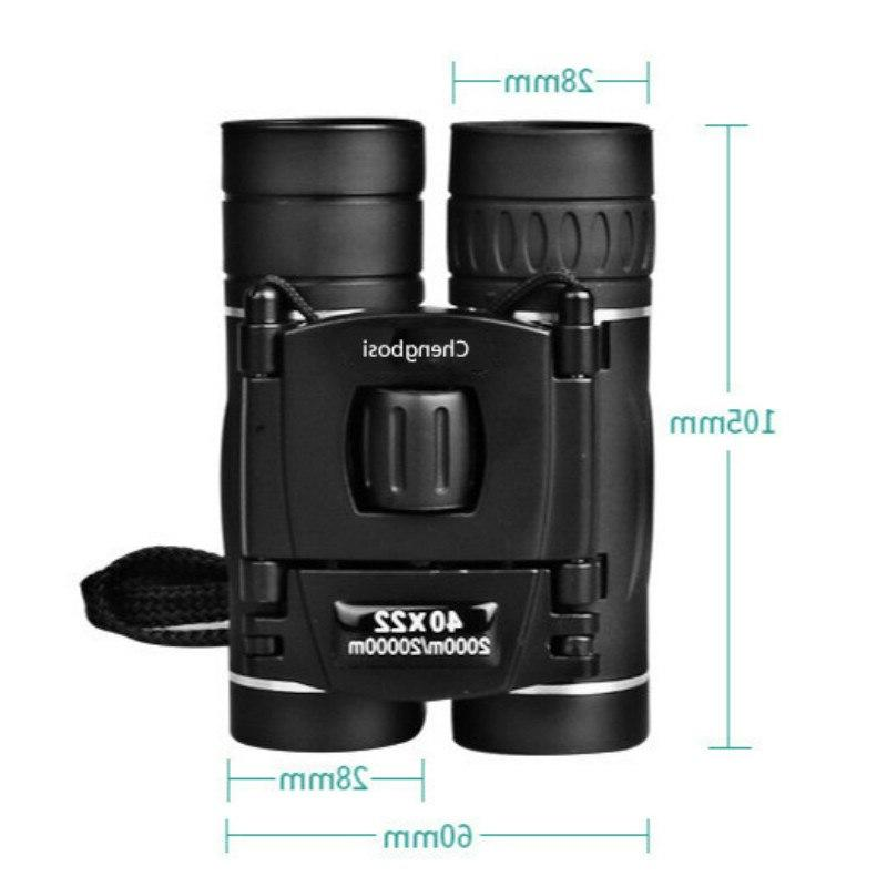 Military 40x22 Professional Hunting Zoom High Quality Vision No Infrared Eyepiece Outdoor Trave Gifts