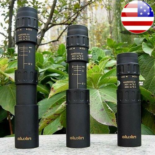 mini 10 30x25 high power zoom optical
