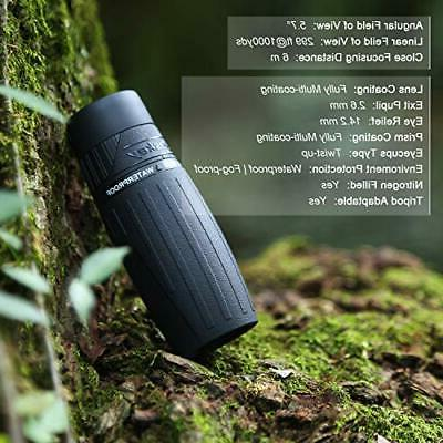 Eyeskey 10X25 Monocular Telescope Clear and