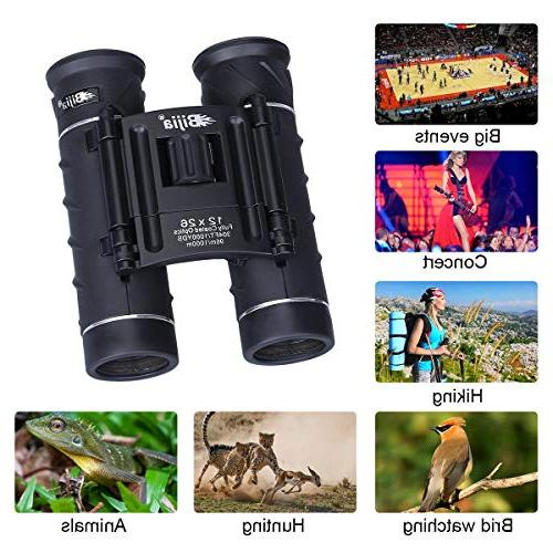 G4Free Mini HD Clear Lens,Ultra-Vision, Portable Compact Telescope for Bird Sports Events Concerts