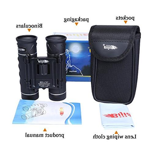 G4Free Mini Binoculars HD BAK4 Clear Lens,Ultra-Vision, Compact for Watching Sports Concerts