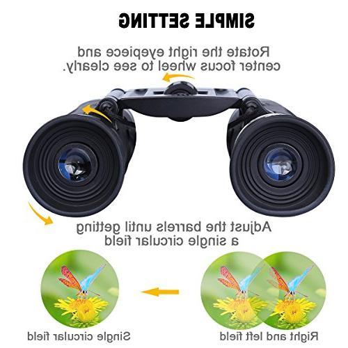 G4Free Binoculars HD BAK4 Lens,Ultra-Vision, Sports Events