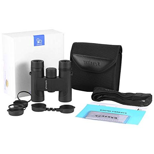 Eyeskey 10x25 Mini Binoculars for Adults,Compact and primium Body You Experience