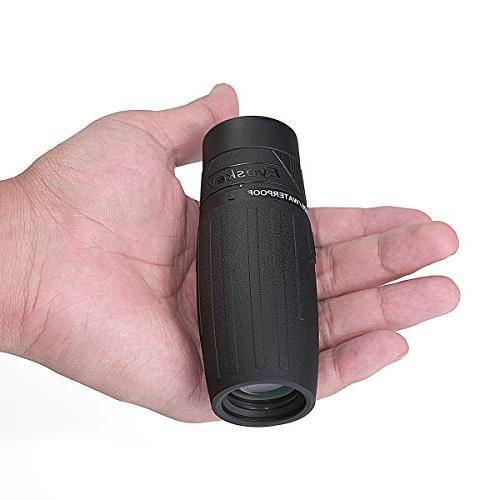 mini compact monocular telescope palm