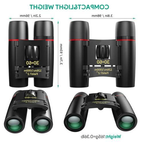 Mini Portable Zoom Military Binoculars Hunting