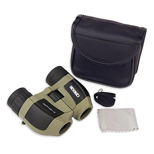 Carson MiniZoom Compact and Lightweight Watching, Camping, Sight-Seeing, Hunting and Outdoor