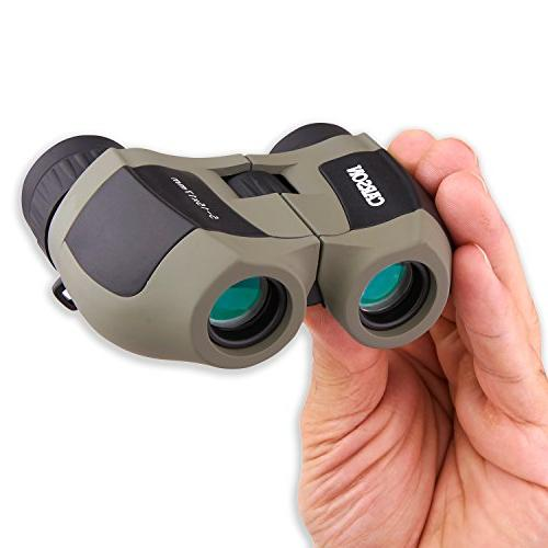 Carson MiniZoom Ultra Compact and Binoculars for Travel, Watching, Hiking, Sight-Seeing, Outdoor Adventures