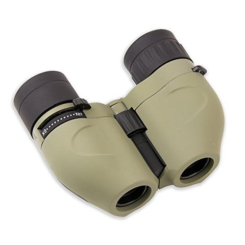 Carson MiniZoom 5-15x17mm Compact and Lightweight Binoculars Watching, Hiking, Camping, Sight-Seeing, Outdoor