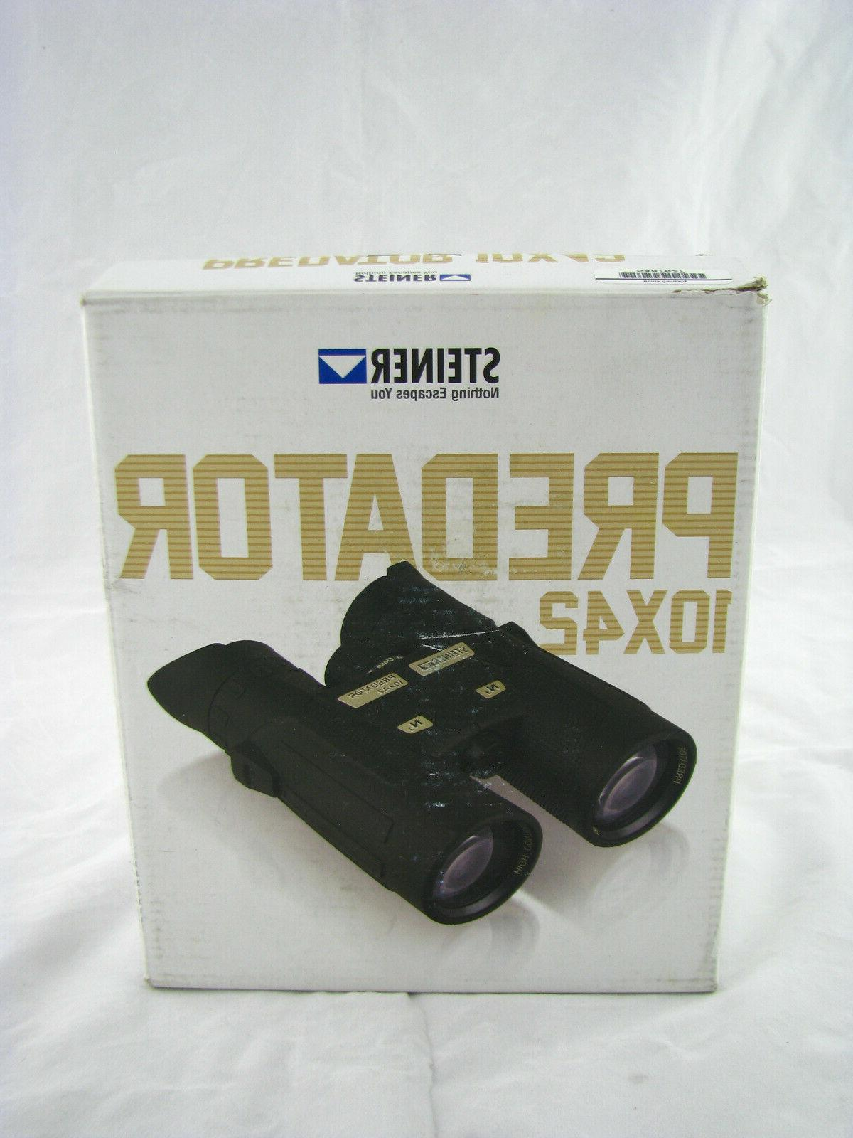 model 2444 predator 10x42 binoculars waterproof fogproof