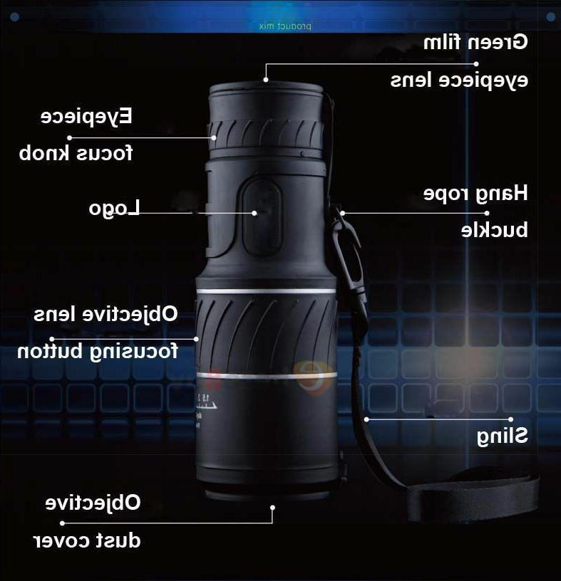 Monocular Zoom HD Low Vision