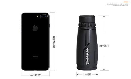 Eyeskey High Power HD Wide Angle Large Eyepiece, Waterproof Proof Scope FMC Close Large Lens.