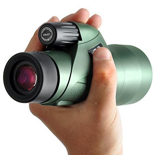 Gosky Definition Monocular Telescope Quick Smartphone - 2018 New Waterproof Monocular Prism Bird Watching Hunting Wildlife