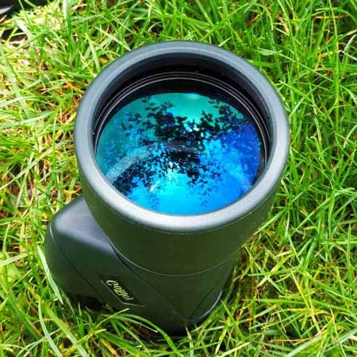 Gosky 12x55 High Monocular Quick Smartphone Holder - New Monocular Prism Bird Watching Hunting Camping