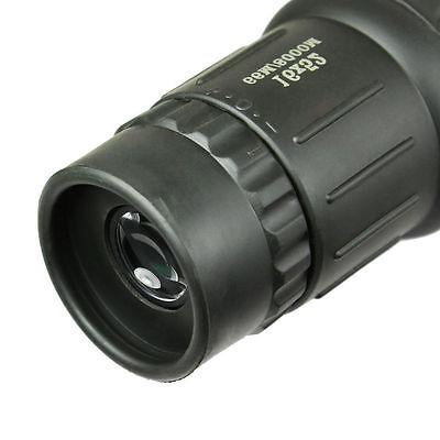 16X52 Monocular Focus Rubber for Camping