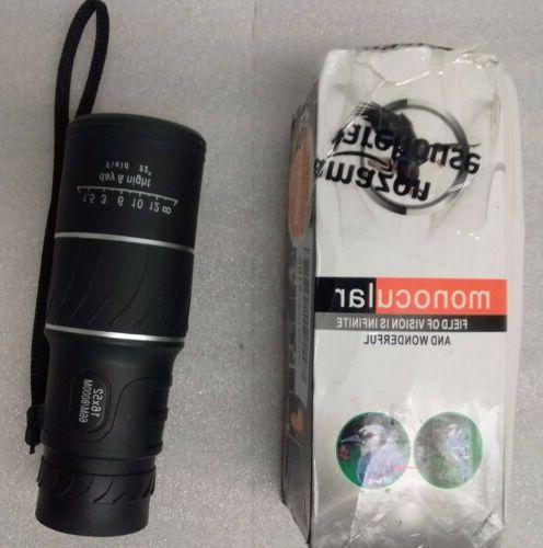 monocular zoom dual focus rubber