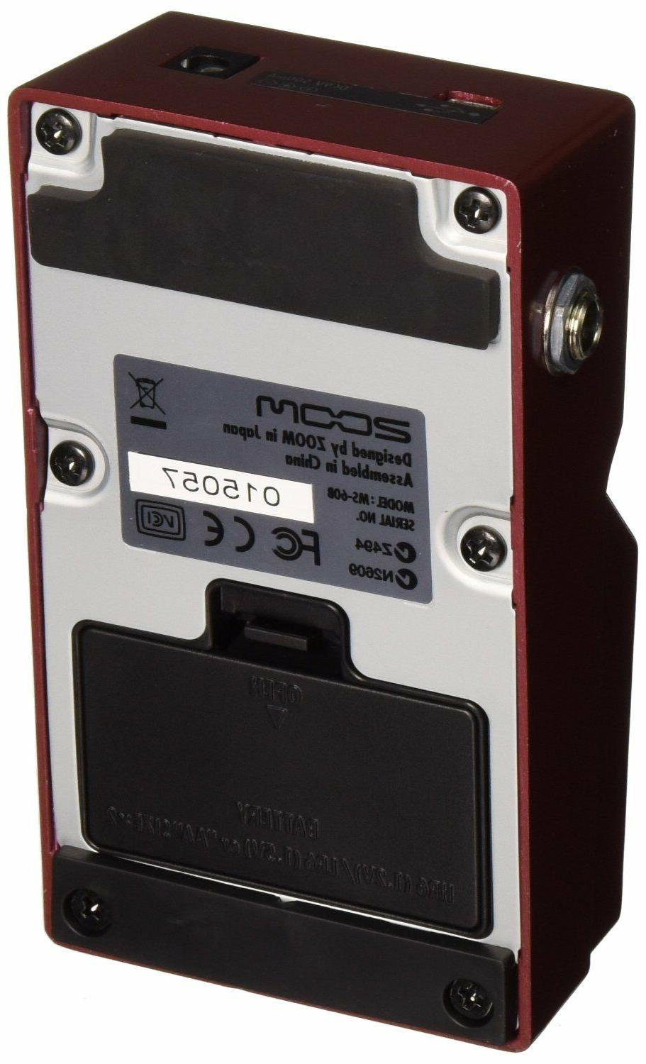 Zoom MS-60B Pedal NEW! FREE 2-DAY DELIVERY!!!