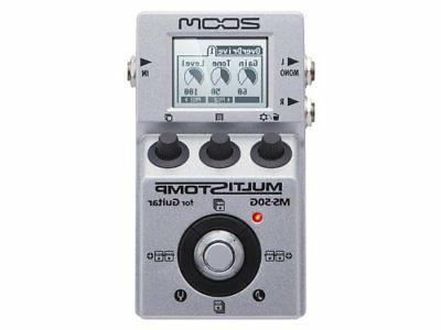 Zoom MS50G Pedal