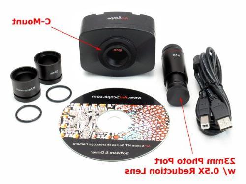 11X-80X w/10MP Camera for Mac OS10 & Windows