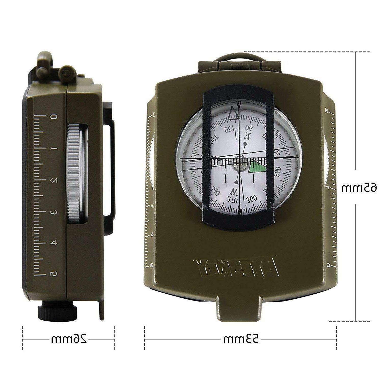 Eyeskey Military Aluminum Alloy Map Measurer