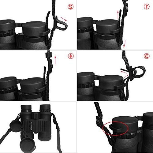 Eyeskey Binoculars Multifunctional Light-Weight Breathable Neck Strap, Perfect for