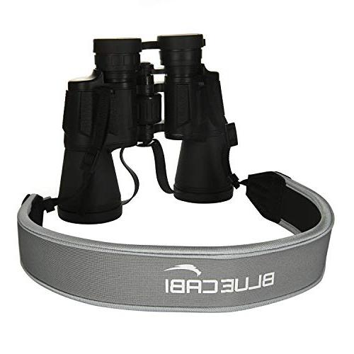 BlueCabi Neoprene Neck for and - Comfortable Adjustable Anti-Slip Belt Strap Binoculars, Rangefinders DSLR Cameras