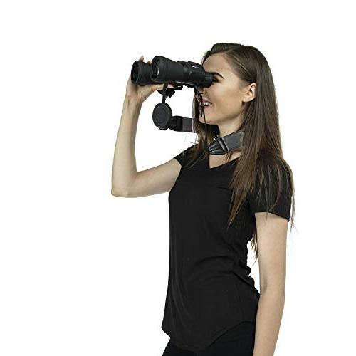 BlueCabi for - Wide Adjustable Anti-Slip Binoculars, Rangefinders Cameras -