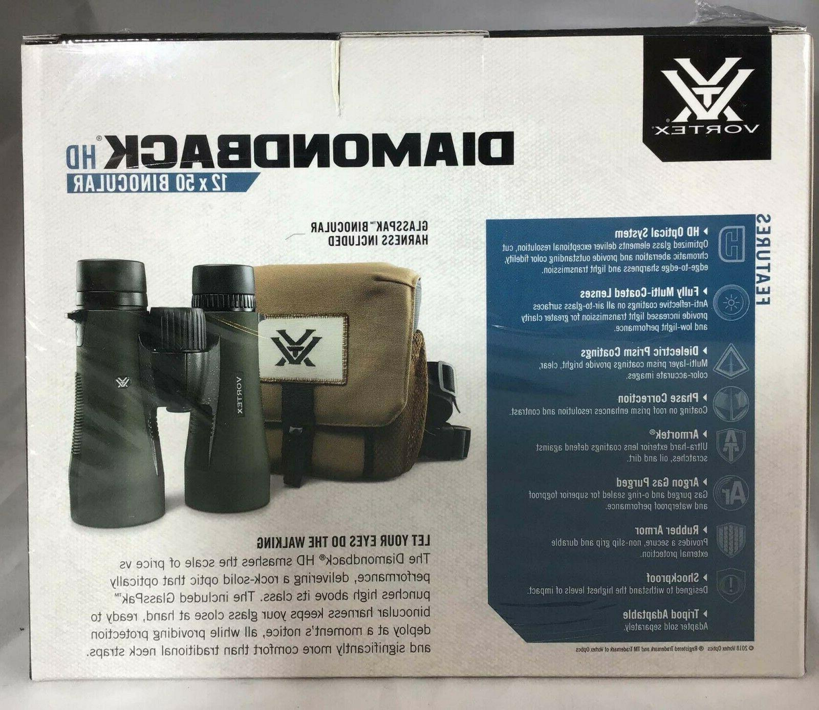 Vortex Optics New Diamondback HD Binocular w/ GlassPak