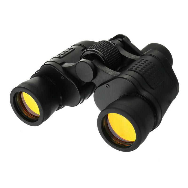 60X60 Zoom Night Vision Outdoor Binoculars Hunting Telescope+Case