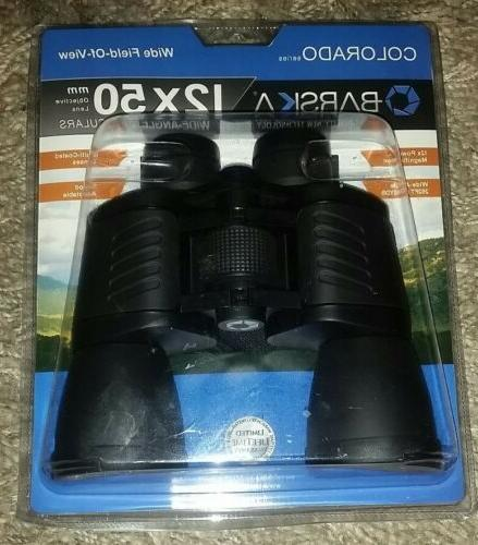 new colorado series 12x50 mm binoculars wide