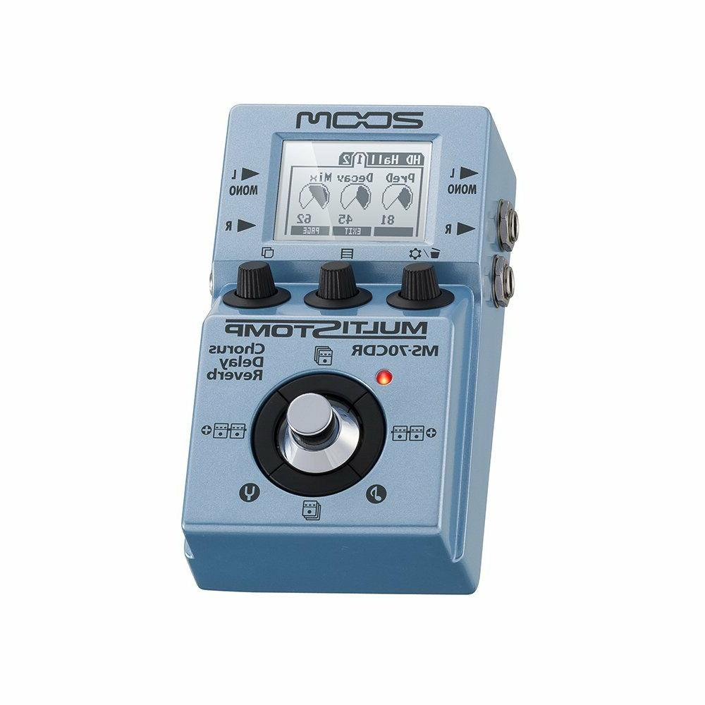 New Zoom / Delay Pedal w/Track