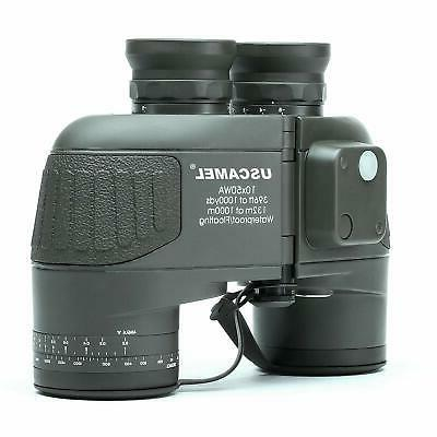 new range finder with compass 10x50 military