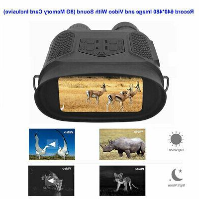 Night Vision Binoculars HD Digital Infrared Hunting Binocula
