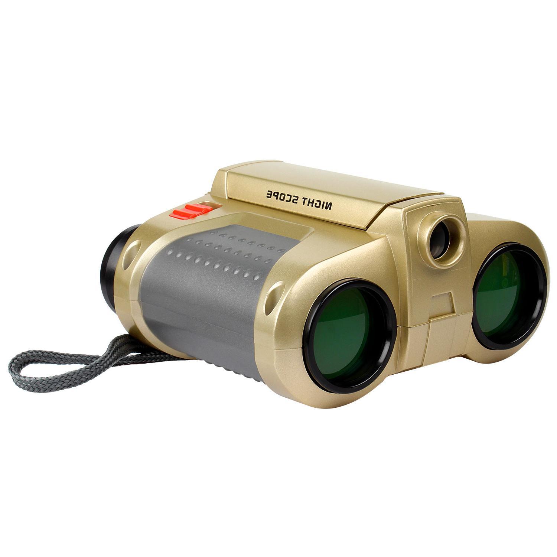 Night Binoculars Telescope Pop-Up Xmas Gift