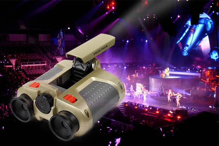 Night Vision Binoculars Light Xmas Gift Kids