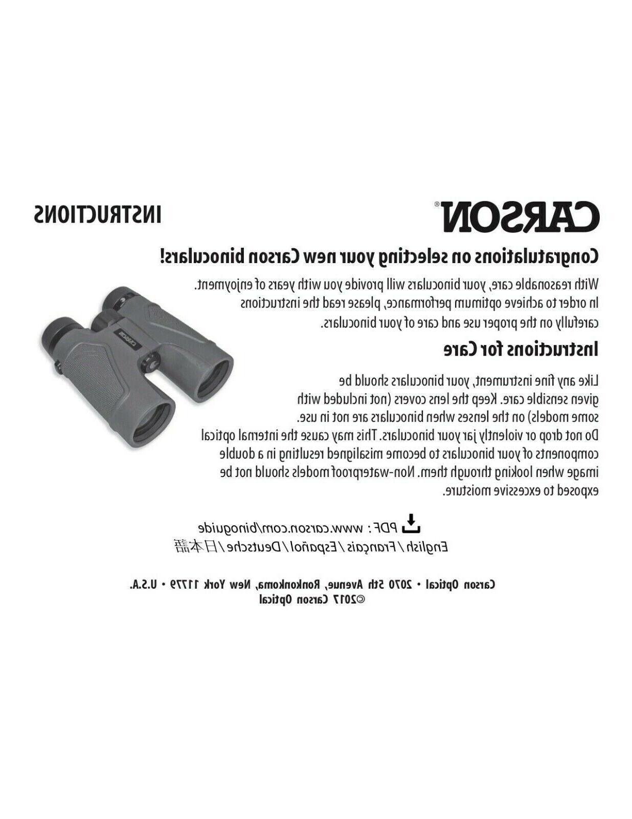 NWT Carson Optical 10 x Close Binoculars