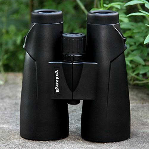 Eyeskey 8x56mm Objective Lens Prism Binoculars with Whale Sports