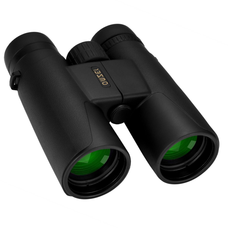 omzer 10x42 high powered compact fogproof binoculars