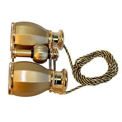HQRP 4x30 Glass Binocular w/ Chain