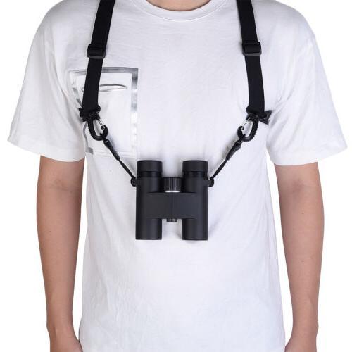 Optics Binocular Harness Strap Adjustable Stretchy with Loop