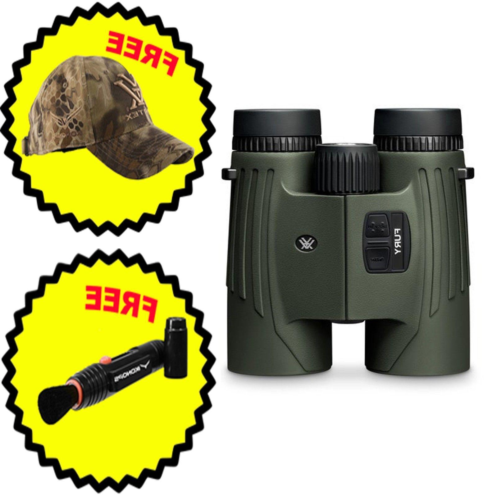 optics fury hd 10x42 laser rangefinding binocular