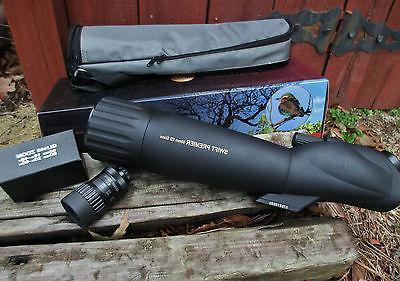 optics premier 80mm spotting scope and 20x