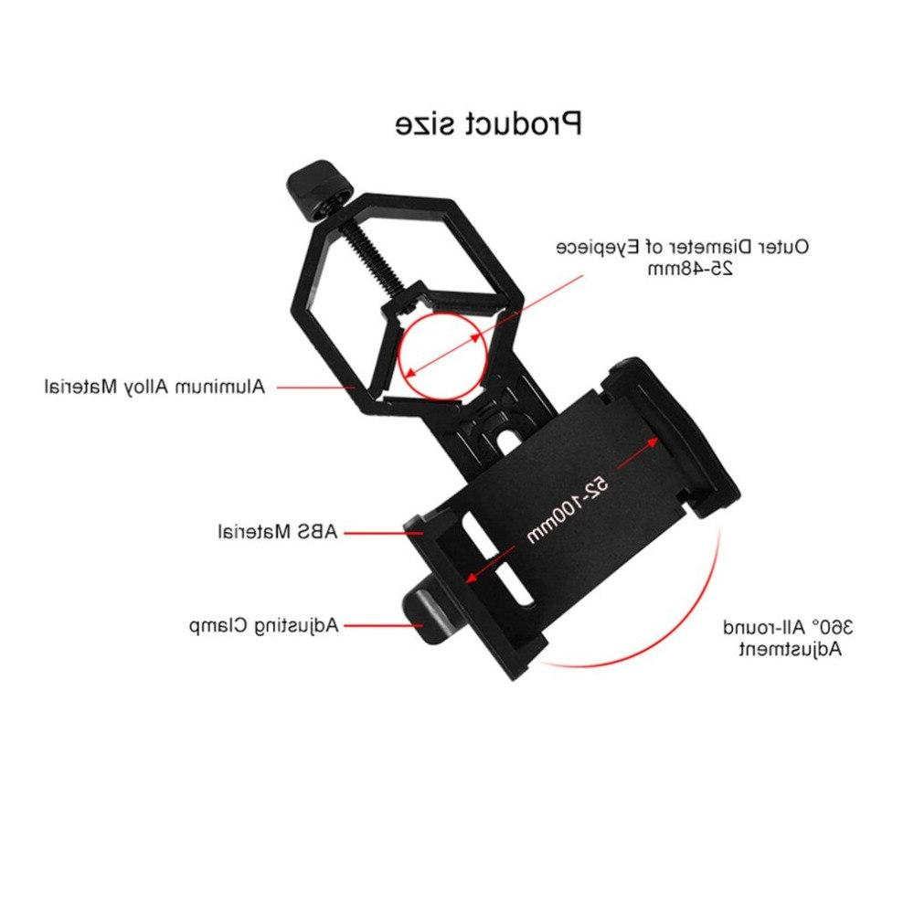 Portable CM-4 <font><b>Adapter</b></font> Scopes Camera <font><b>Adapter</b></font> Black