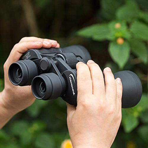 Aurosports Binocular With Night Vision Birding Watching, Hunting, Opera, Sports, Sightseeing, Business Visit etc.