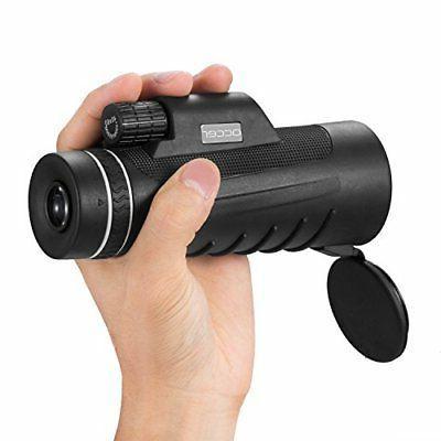 power monocular telescope dual focus