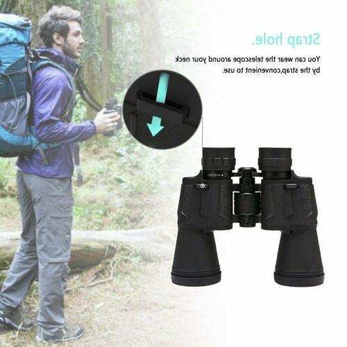 Powerview Compact Folding Prism Binocular 12x50