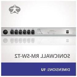 Rackmount Kit for SonicWall NSA-240 & NSA-250 SWRack RM-SW-T