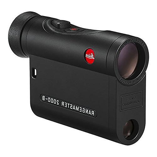 Leica 7x24 Rangemaster CRF 2000-B Laser Rangefinder