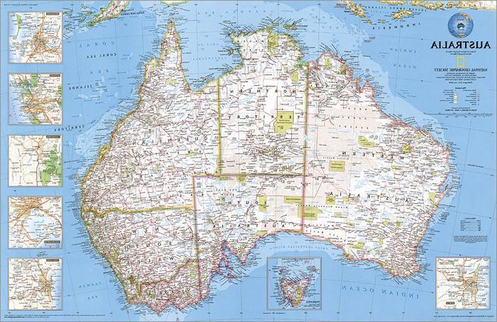 re00620002 map australia