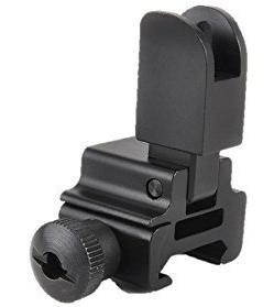 Removable High Profile Flip-up Tactical Open Front Sight for