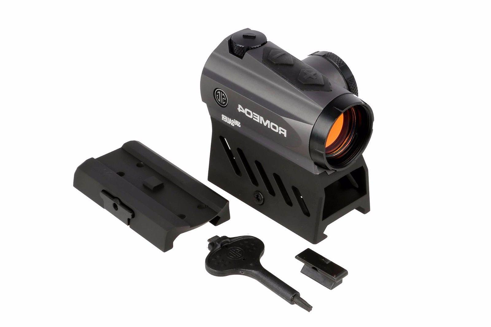 Sig Sauer Romeo 4a Red Dot Sight 1x20mm 2 MOA Dot Reticle -